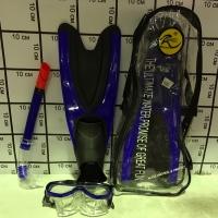 Набор для подводного плавания Ласты, маска, трубка размер S(38-40) 5835/3S