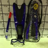 Набор для подводного плавания Ласты, маска, трубка размер L(42-44) 5840/3M