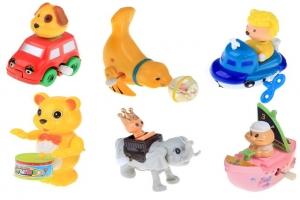 Заводные и инерционные игрушки