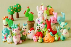 Игрушки из пластика