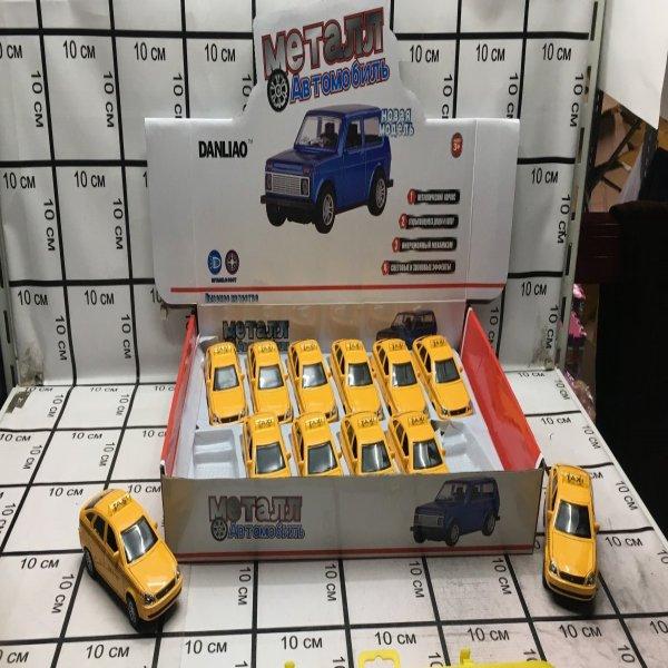 Машинка металл 12 шт в блоке 1806TD 1806TD