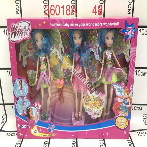 36018A Куклы Фея 3 шт. в наборе, 48 шт. в кор.  36018A