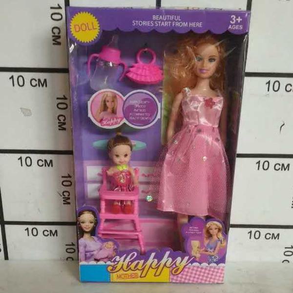 Кукла с пупсом и аксессуарами 8213-5