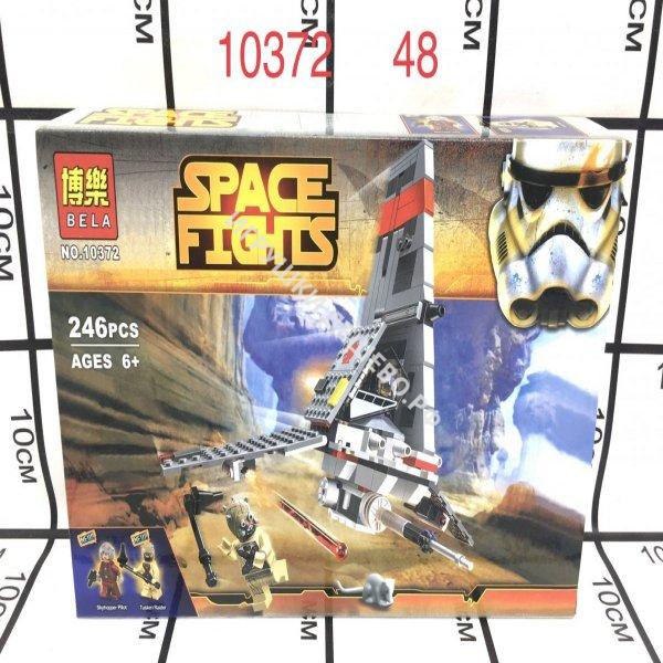 10372 Конструктор Космические войны 246 дет., 48 шт. в кор. 10372