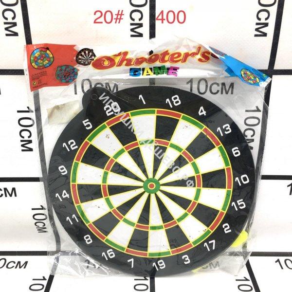 20# Дартс Мишень с дротиками, 400 шт. в кор. 20#