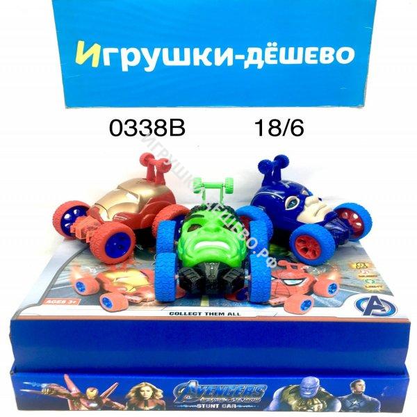 0338B Машинки Суперегерои 6 шт. в блоке, 18 блоке. в кор.  0338B