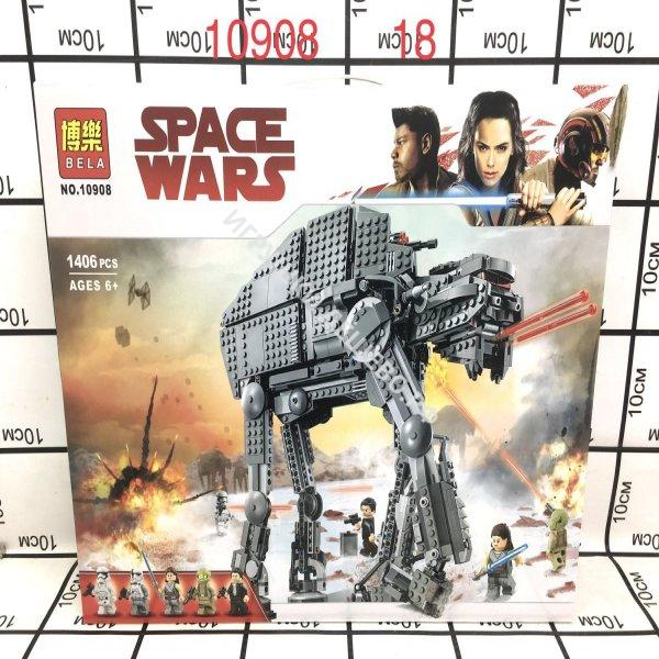 10908 Конструктор Звёздные войны 1406 дет. 18 шт в кор. 10908