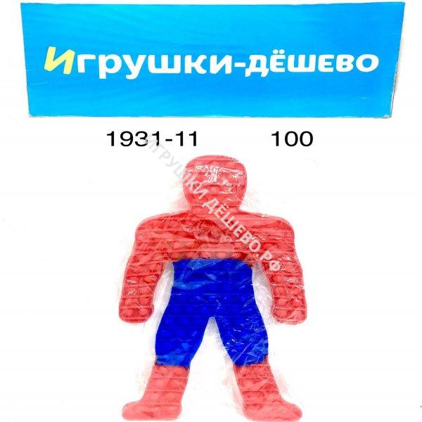 1931-11 Поп ит Паук, 100 шт. в кор. 1931-11