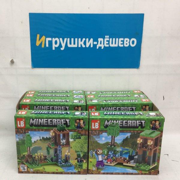 Конструктор Герои из кубиков  8 шт. в блоке LB548-1 LB548-1
