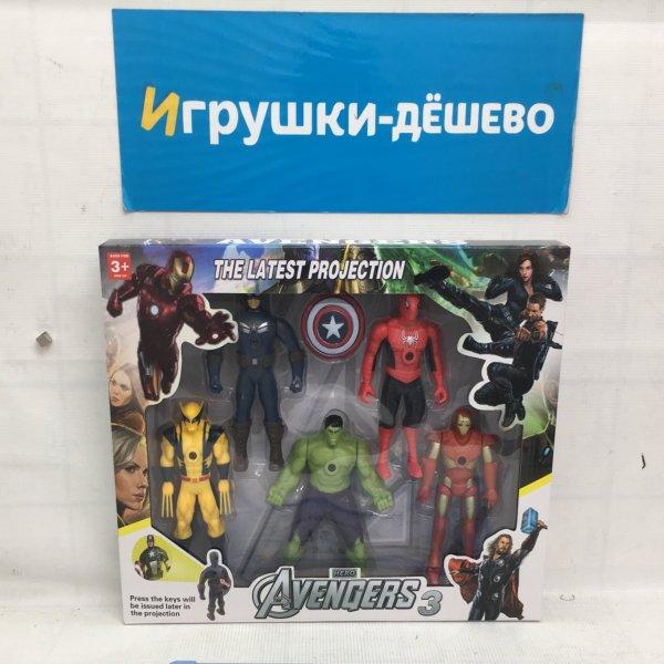 Супергерои 5 героя в наборе 0892A-1 0892A-1