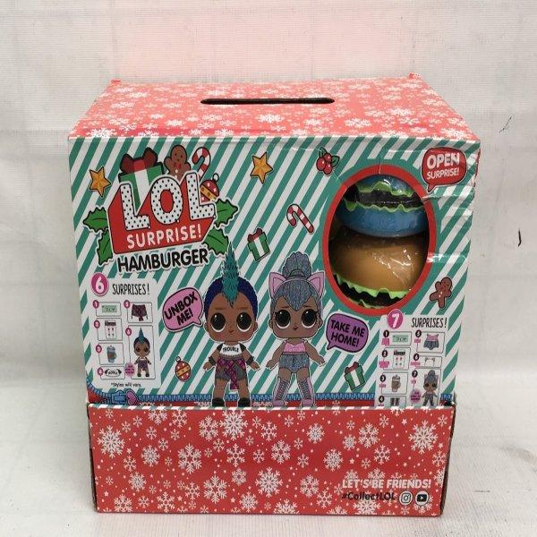 Кукла в шаре Гамбургеры 24 шт. в блоке, 288 шт. в кор. S0063 S0063