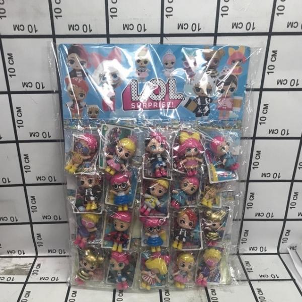 Куклы LOL 20 шт на блистере 21301