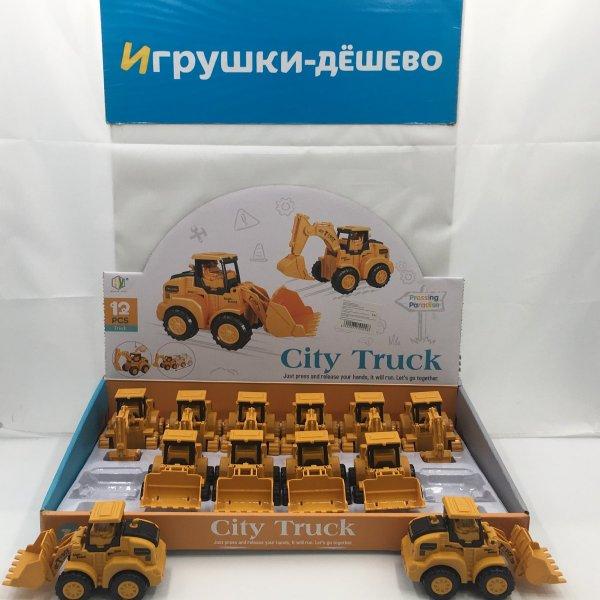 HY-710 Трактор 12 шт. в блоке, 240 шт. в кор. HY-710