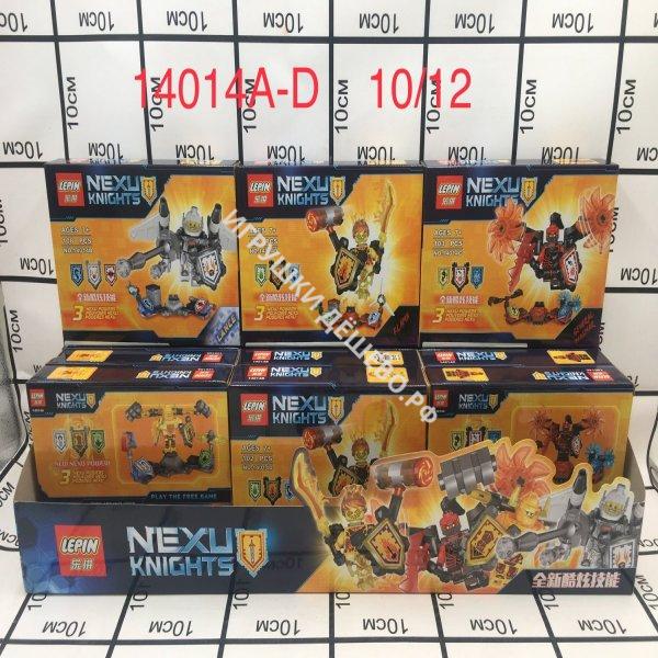 14014A-D Конструктор Нексо 12 шт в блоке, 10 шт в кор 14014A-D