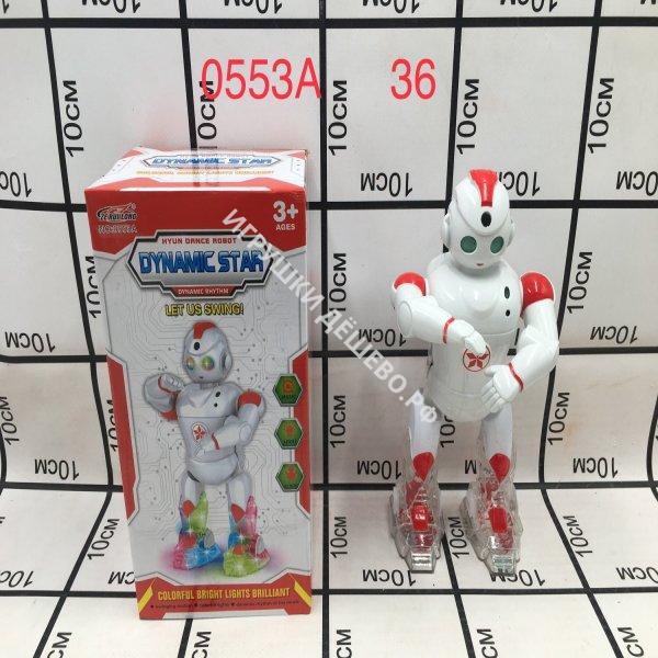 0553A Робот (свет, музыка), 36 шт. в кор. 0553A