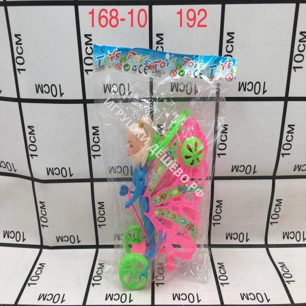 168-10 Каталка на палочке Кукла, 192 шт. в кор. 168-10
