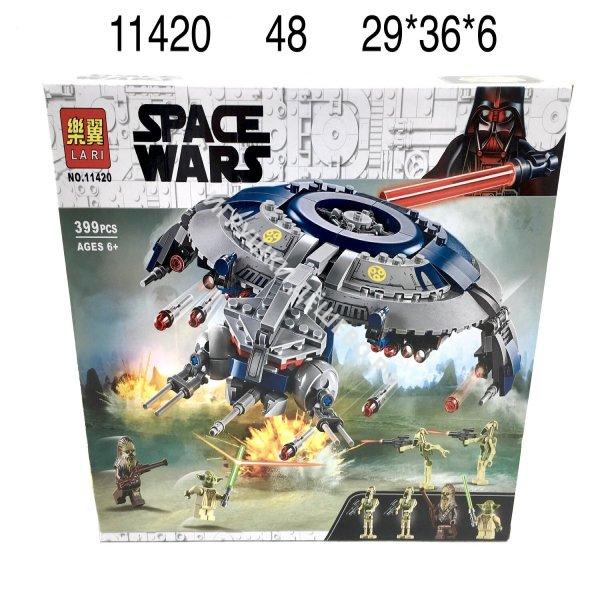 11420 Конструктор Звёздные войны 399 дет., 48 шт. в кор. 11420