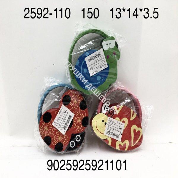 2592-110 Деревянная игрушка Бубен, 150 шт. в кор. 2592-110