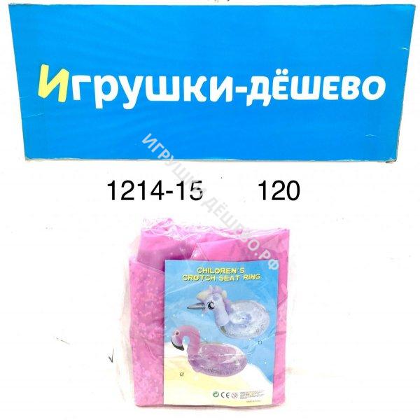 1214-15 Надувной круг фламинго 120 шт. в кор. 1214-15