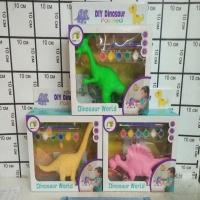 Раскрась динозавра (краски, кисти) AK-68628